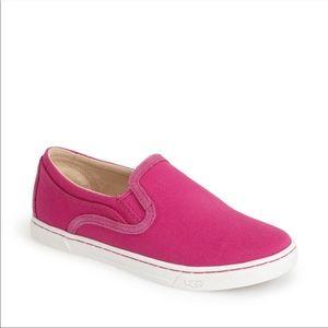 UGG Pink Fierce Slip On Sneakers